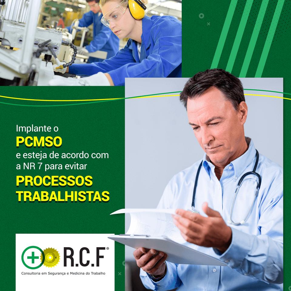 Implante o PCMSO e esteja de acordo com a NR7 para evitar processos trabalhisas.