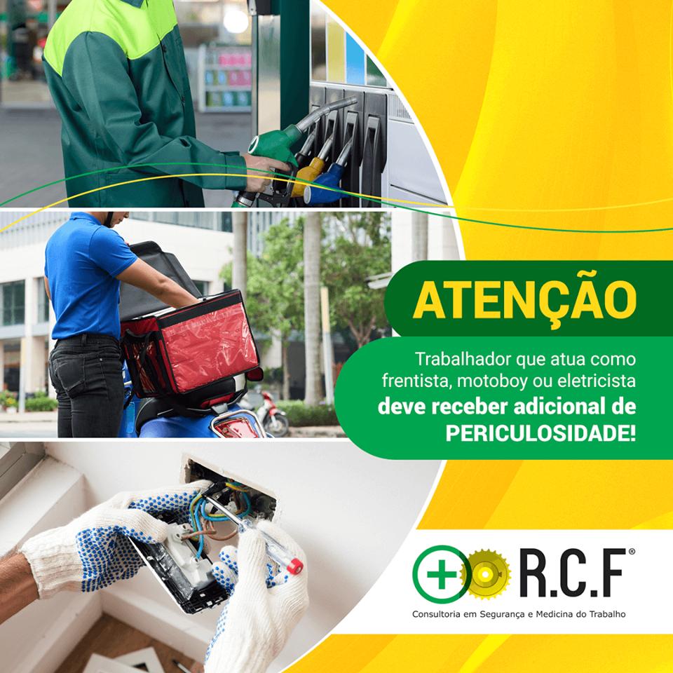 ATENÇÃO: Trabalhador que atua como frentista, motoboy ou eletricista deve receber adicional de Periculosidade!