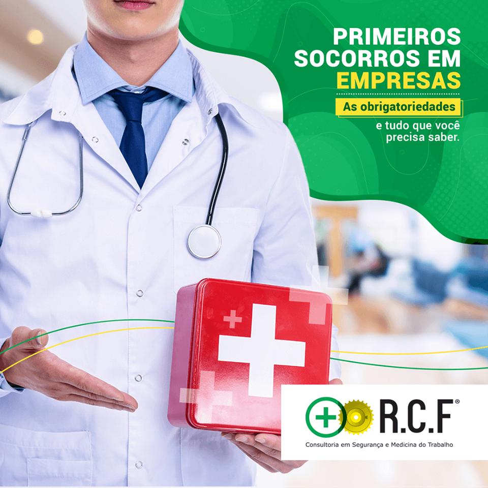 Primeiros Socorros em EMPRESAS: As obrigatoriedades.