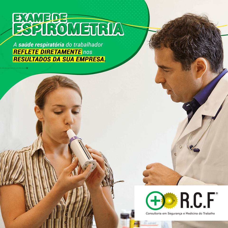 Exame de ESPIROMETRIA.