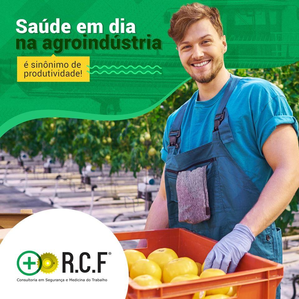 Saúde em dia na agroidústria é sinônimo de produtividade.